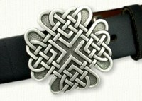 Celtic Eight Heart Knot Belt Buckle