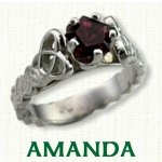 Celtic Amanda Engagement Ring