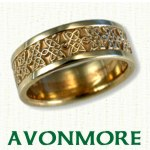 Avonmore Knot Celtic Wedding Bands