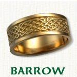 Barrow Knot Celtic Wedding Bands