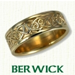 Berwick Knot Celtic Wedding Bands