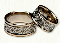 Celtic Knot Work  Wedding Bands