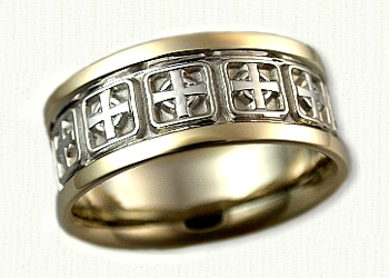 wedding ring sacred heart celtic religious