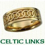 Celtic Link Knot Wedding Rings