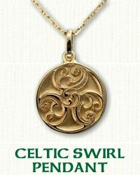 Celtic Swirl Pendant