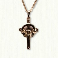 Large Claddagh Cross