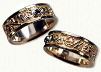 Custom Claddagh Story Band