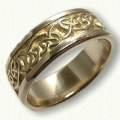 14kt Yellow Gold Culmora Knot band