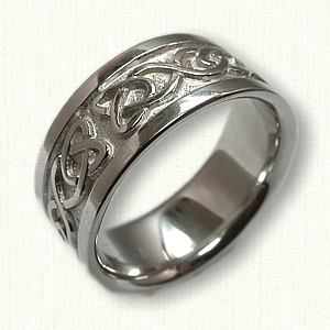 Celtic Dara Knot Wedding Rings by deSignet make your dream wedding