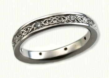 celtic dara knot wedding rings by designet make your dream wedding