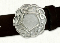 Celtic Galway Knot Belt Buckle