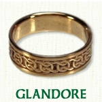 Glandore Knot Celtic Wedding Bands