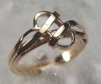 Handmade Woven Knot Ring