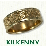 Kilkenny Knot Celtic Wedding Bands