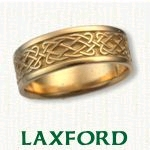 Laxford Knot Celtic Wedding Bands