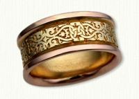 Lensiedel Knot Wedding Rings