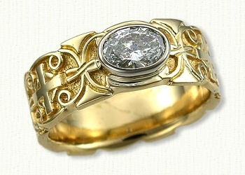 Celtic Mohan Knot Wedding Rings By Designet Best Prices