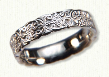 Celtic Mohan Knot Wedding Rings by deSignet best prices quality