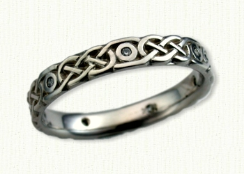 wedding pin rings photos knot nice celtic best