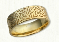 14kt yellow Celtic Newport Knot Band