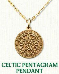 Celtic Pentagon  Pendant
