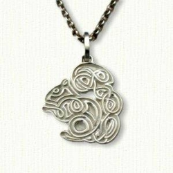 Celtic Squirrel pendant