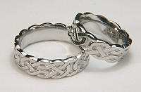 Desboro Knot Wedding Bands