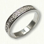 Sterling Silver Celtic Seaforth Knot Wedding Band