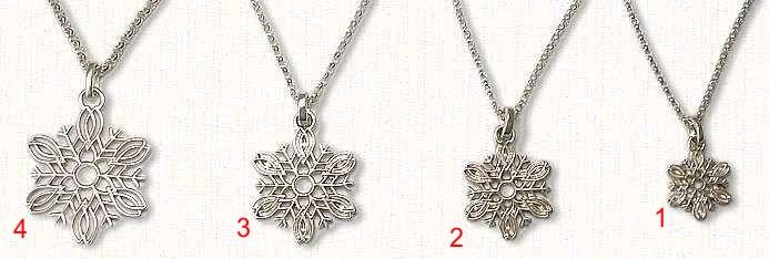 Snowflake Assortment Four Sizes
