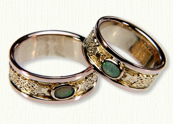 Celtic Tralee Wedding Rings affordable prices online