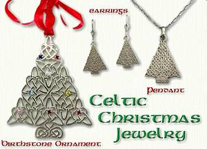 Celtic christmas tree pendants affordable prices online celtic christmas tree snowflake pendants aloadofball Image collections