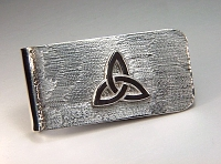 Triangle Knot Money Clip