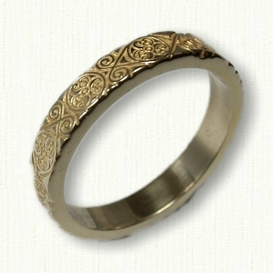 Triskele Knot Celtic Wedding Rings by deSignet make your dream