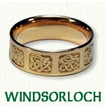 Windsorloch Knot Celtic Wedding Bands